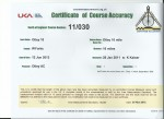 course measurement cert 2013