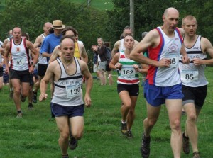 BURNSALL FELL RACE START