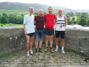 Otley's favourite One Direction tribute act: Julian, Graham, Shane and Eriks.