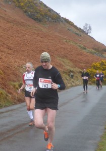 Howard at 7 miles near Catbells